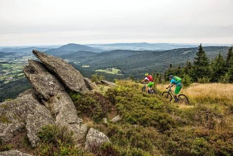 mountainbiken Lamer Winkel
