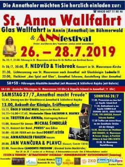 St. Anna Wallfahrt in Annín vom 26.-28.07.2019