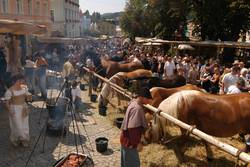 Historická soumarská slavnost v Grafenau