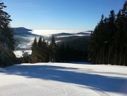 Vánoční lyžování na Špičáku