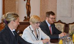 Ministryně Karla Šlechtová jednala s bavorskými ministry
